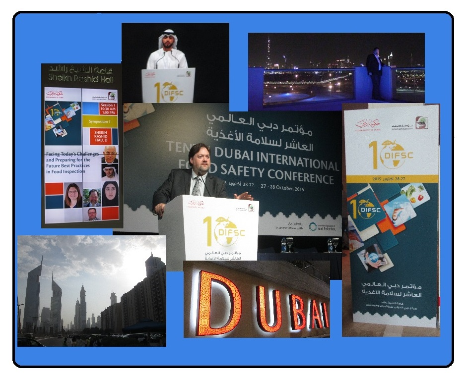 Photo Collage from Dubai Food Safety Conference Oct 2015[1]